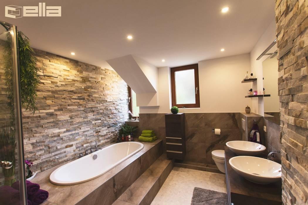 Ein bad mit individuellem design münchen waldperlach moderne ...
