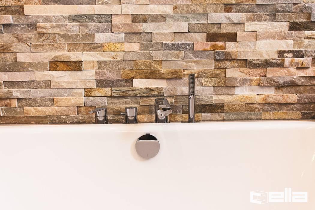 Baños de estilo moderno de Cella GmbH Moderno Azulejos