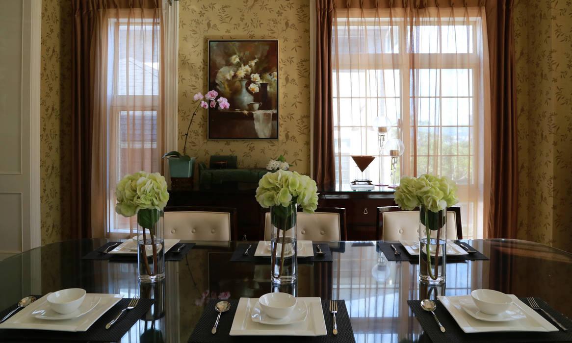 餐廳主題牆面:  餐廳 by 漢品室內設計