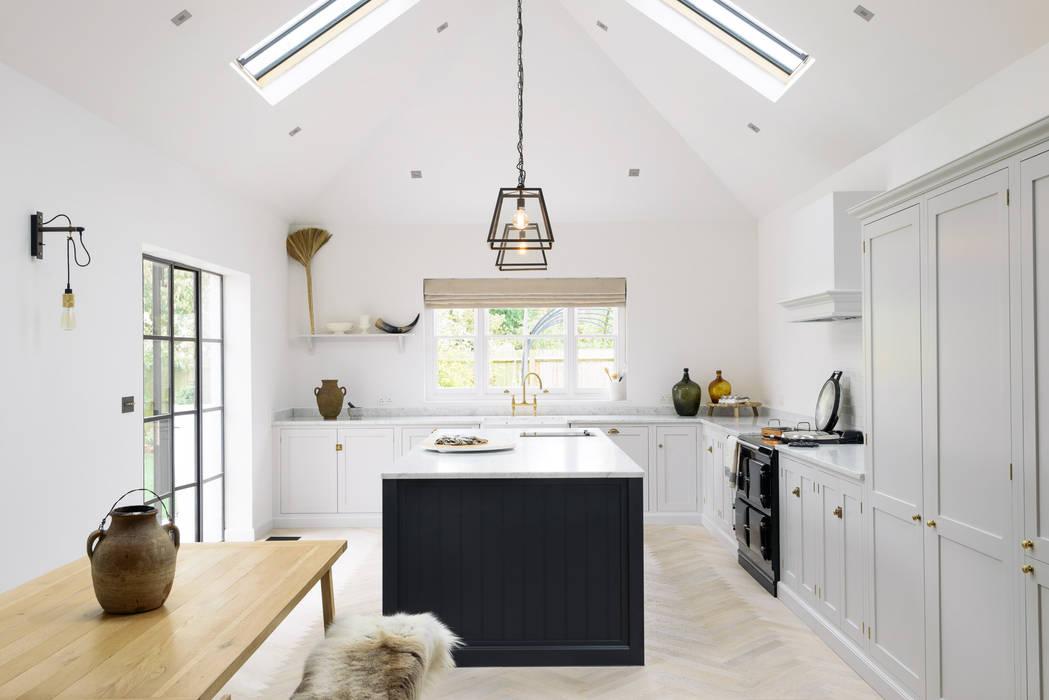 The Coach House Kitchen by deVOL : scandinavian Kitchen by deVOL Kitchens