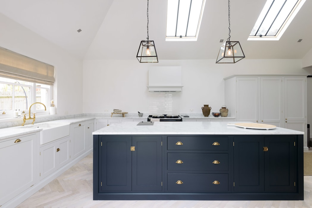 The Coach House Kitchen by deVOL : scandinavian Kitchen by deVOL Kitchens