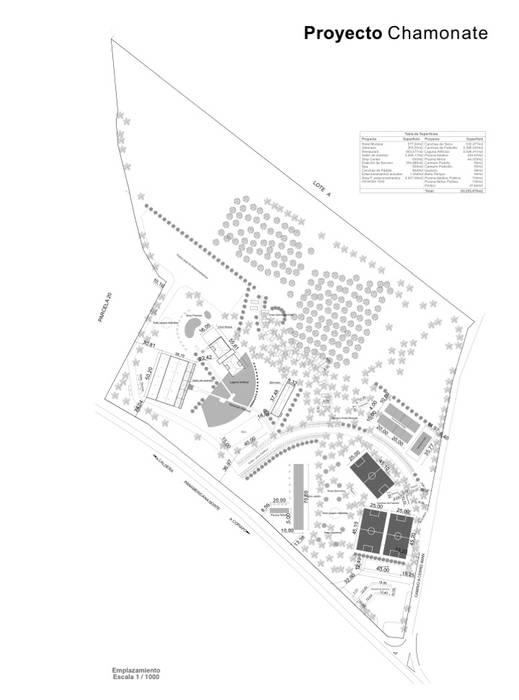 Master Plan Chamonate: Jardines de invierno de estilo minimalista por Arc Arquitectura