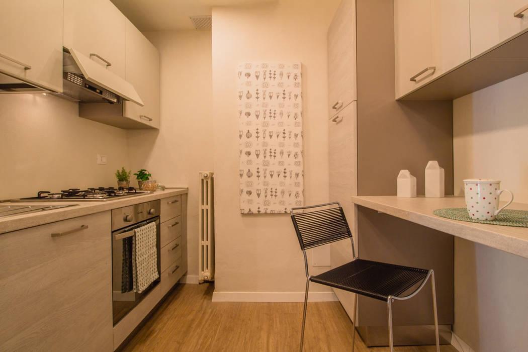 Allestimento di home staging in appartamento in pieno centro storico ...