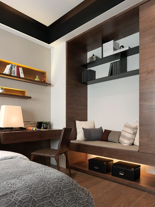 Moderne Häuser von 大觀室內設計工程有限公司 Modern
