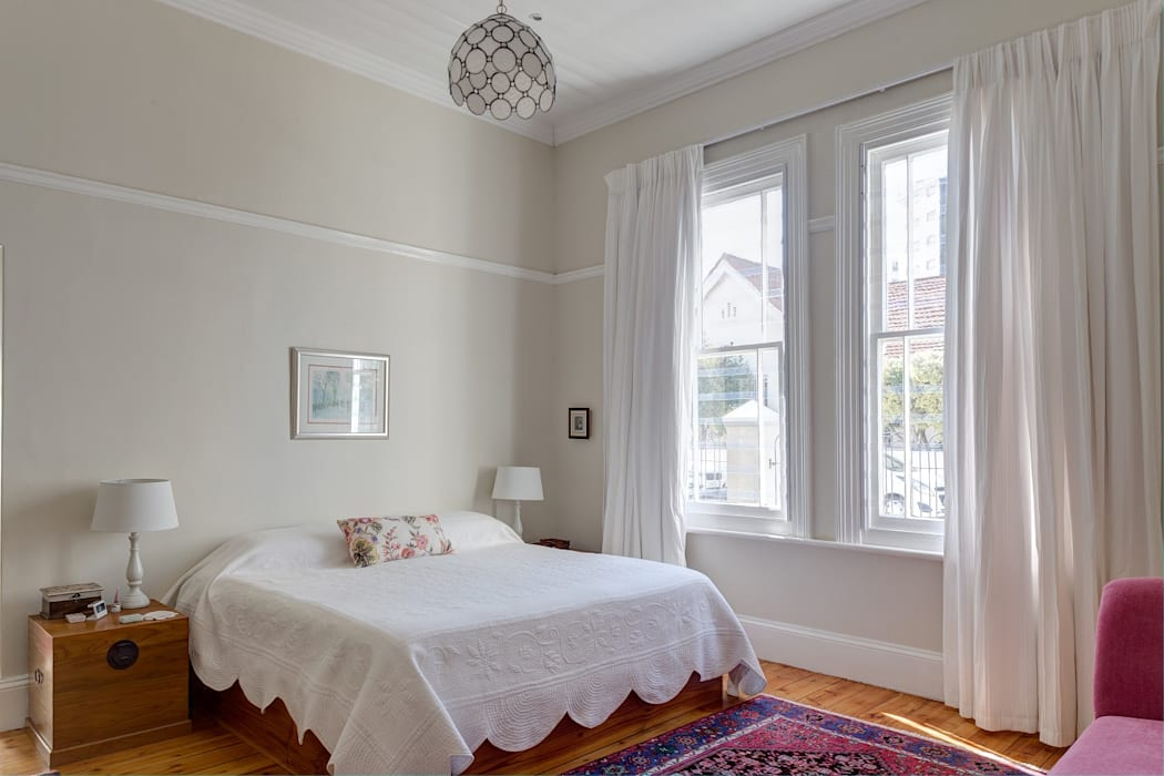 Muse Architects Eclectic style bedroom