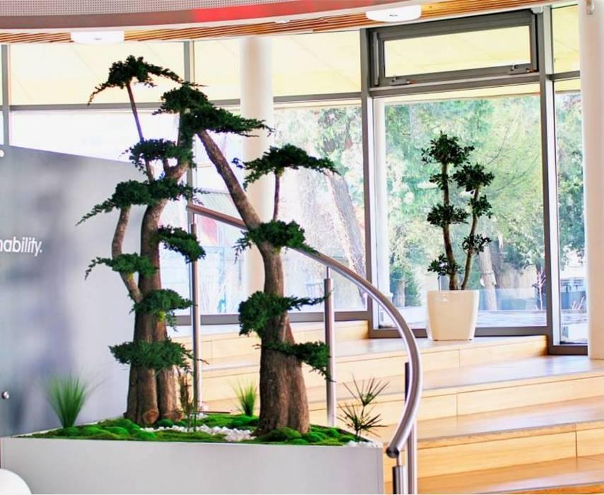 Création Jardinière sur mesure : Bureaux de style  par Green Time