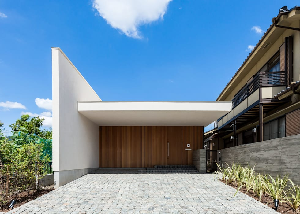 Rumah oleh Architet6建築事務所, Minimalis Kayu Wood effect