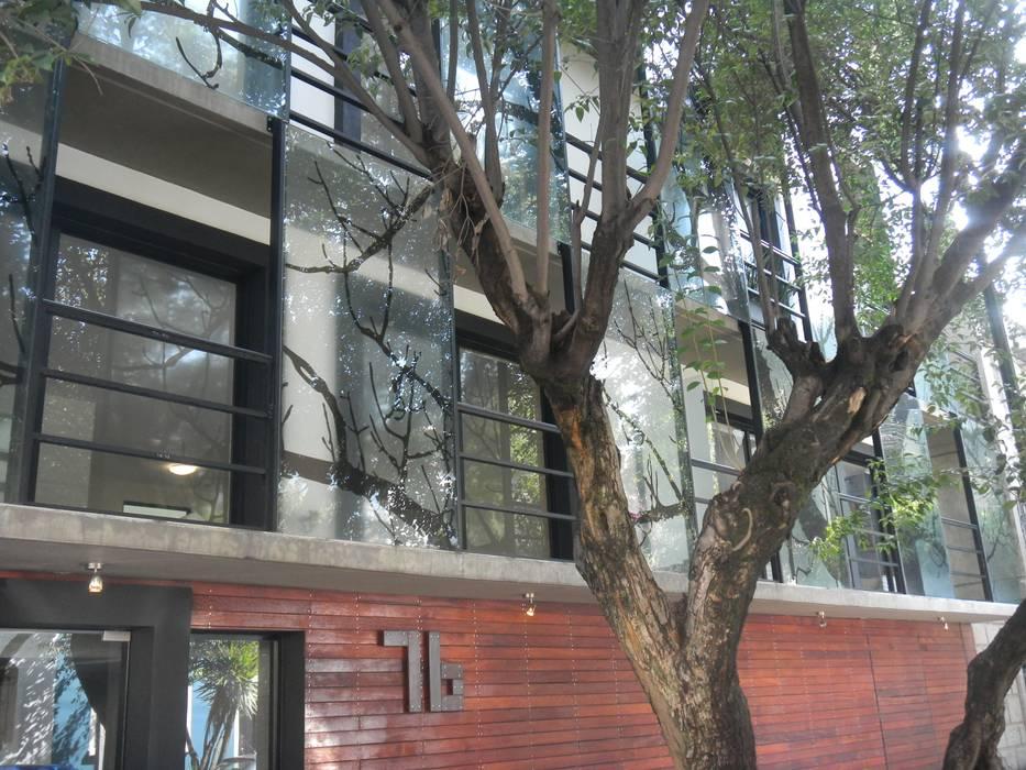 LEON 76: Casas de estilo  por HDA: ARQUITECTURA BIOCLIMATICA