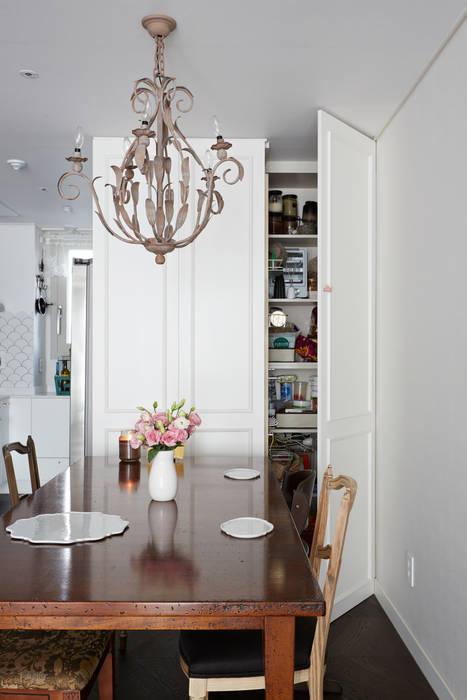 现代客厅設計點子、靈感 & 圖片 根據 CASA GREIGE(까사그레이지) 現代風