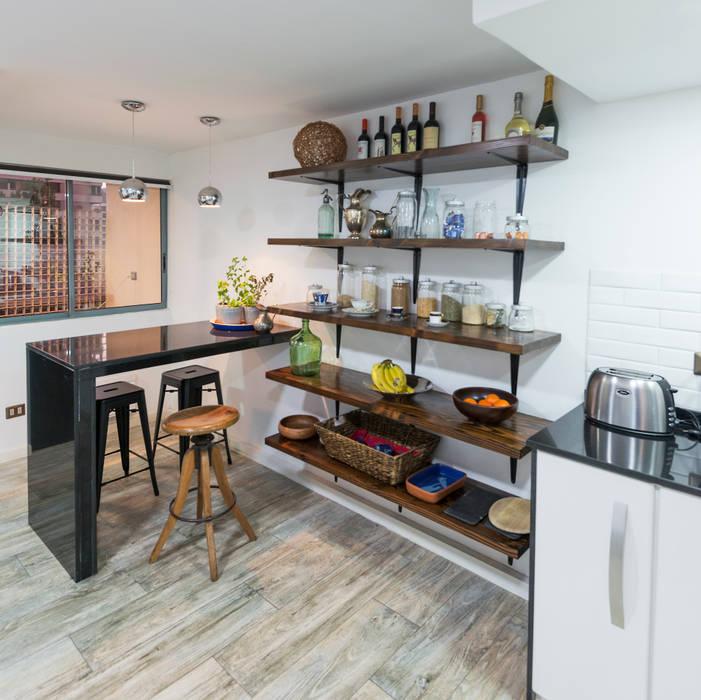 Modern kitchen by Grupo E Arquitectura y construcción Modern