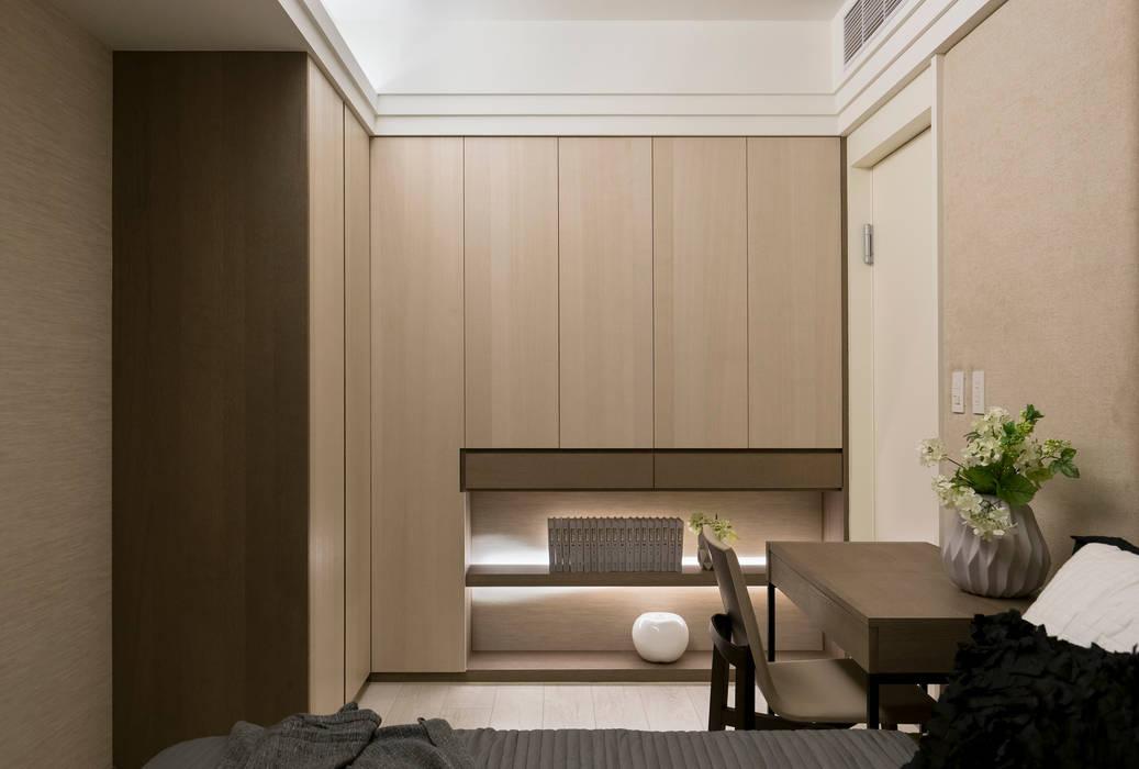 Skandynawska sypialnia od 思為設計 SW Design Skandynawski
