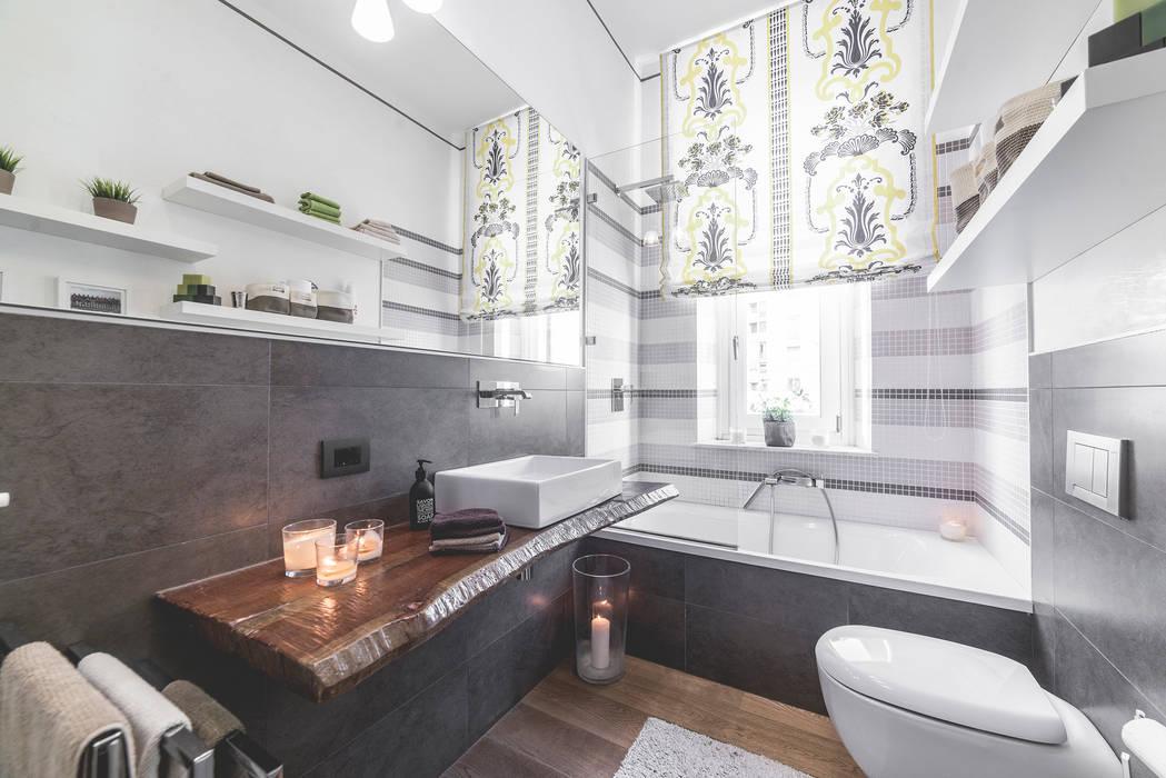 Baños de estilo  por MODO Architettura, Moderno