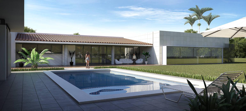 Residencia BGRR Valderrábano Arquitectos Casas modernas