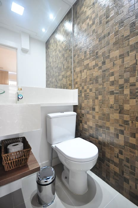 Apartamento São Caetano - 113M² Condecorar Arquitetura e Interiores Banheiros clássicos