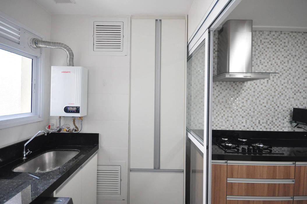 Apartamento São Caetano - 113M² Condecorar Arquitetura e Interiores Cozinhas clássicas