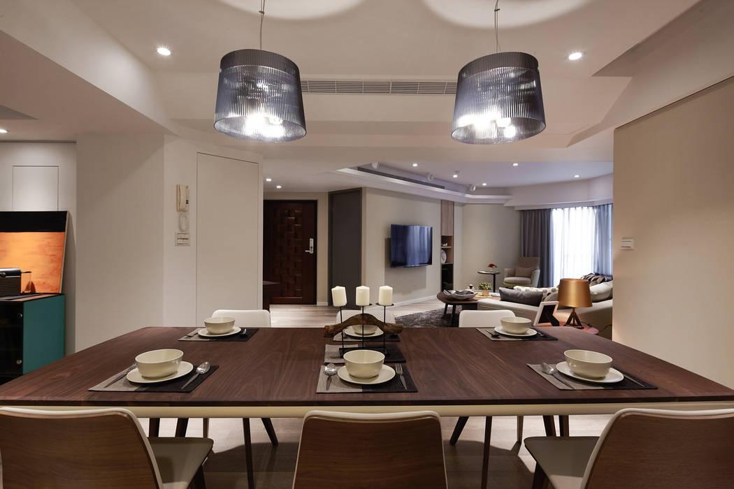 典菁 Scandinavian style dining room by 耀昀創意設計有限公司/Alfonso Ideas Scandinavian
