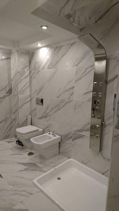 Évolución: Baños de estilo  por Himis, Habis y Haim,Clásico Cerámico