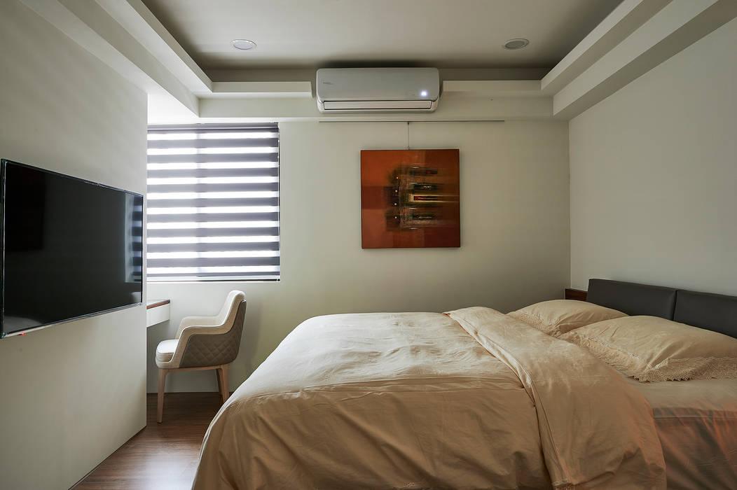 Dormitorios de estilo moderno de 舍子美學設計有限公司 Moderno