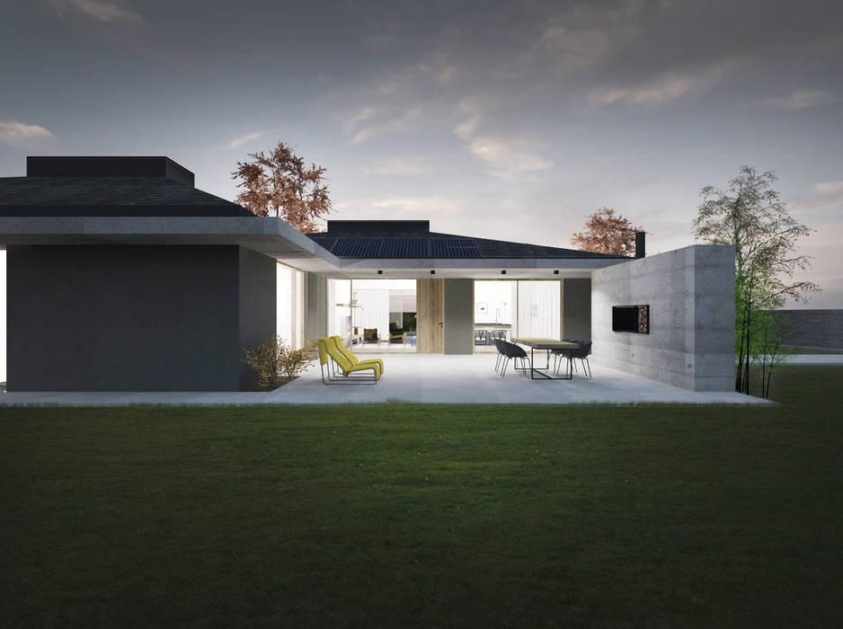 Rumah Minimalis Oleh Didonè Comacchio Architects Minimalis