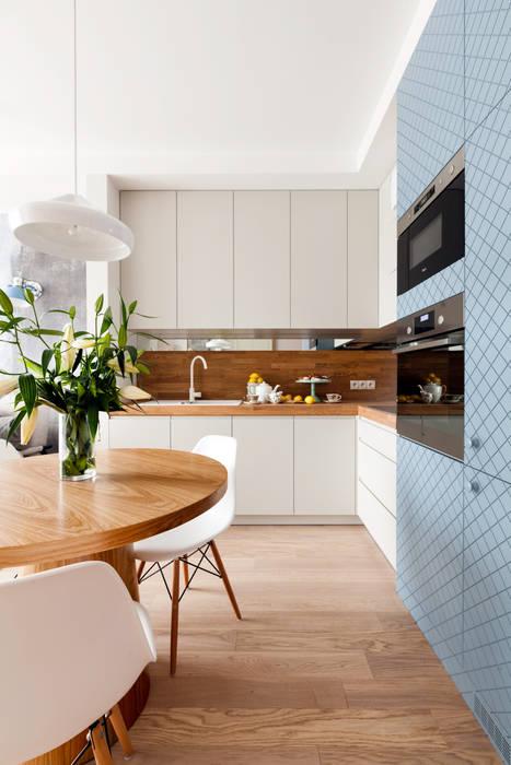 Warszawa 2014: styl , w kategorii Kuchnia zaprojektowany przez JT GRUPA