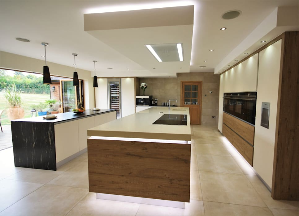 Wickham Bishops, Witham:  Kitchen by Kitchencraft