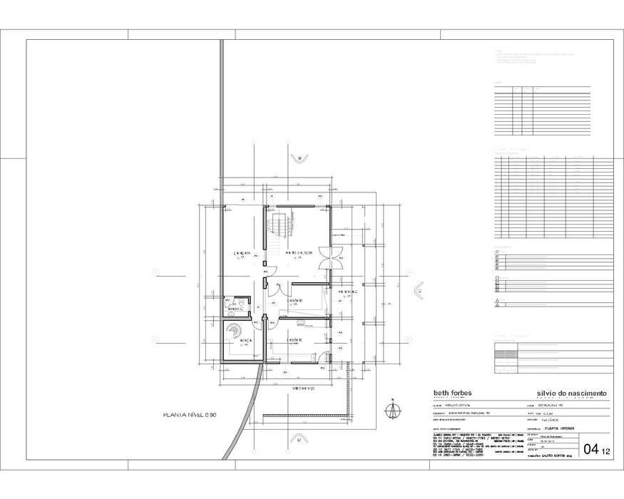 Nhà theo Studio + Arquitetura e Urbanismo,