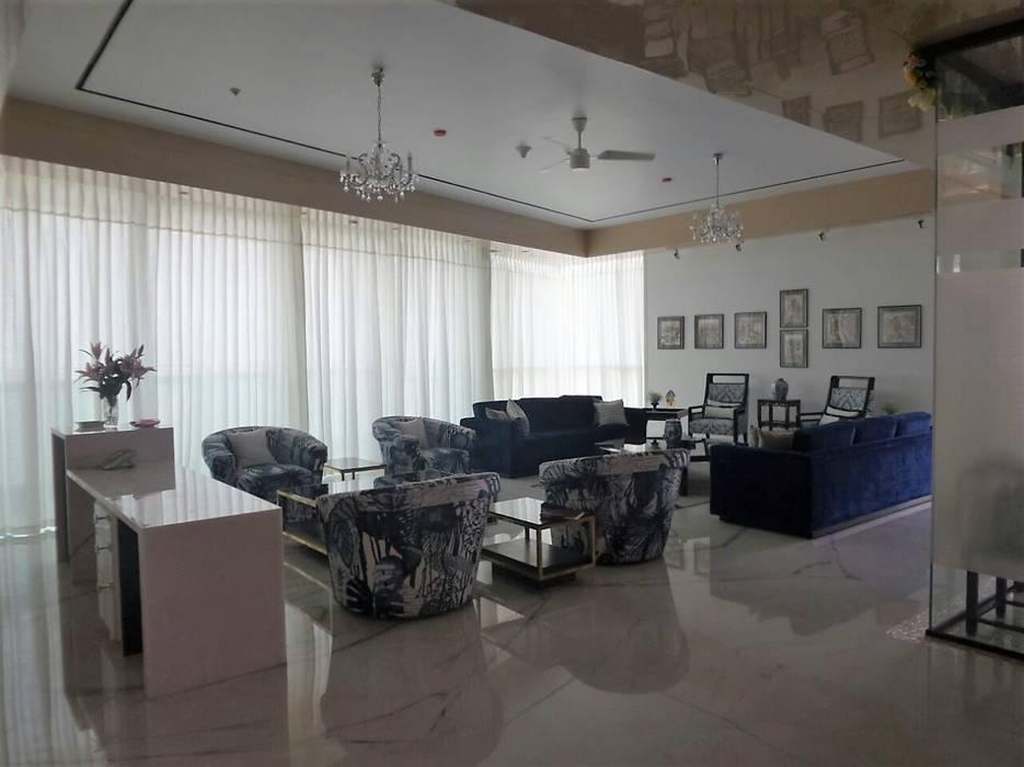 Living Room:  Dining room by bhatia.jyoti