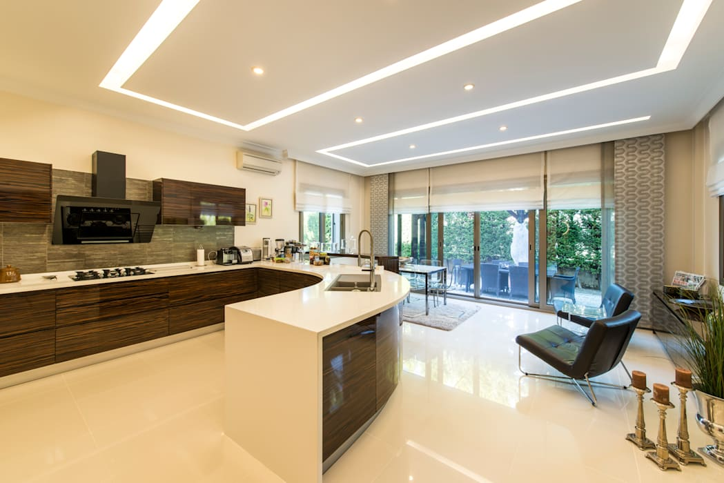 Kitchen by Mimode Mimarlık/Architecture, Modern