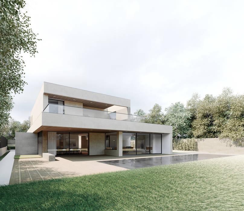 Moradia Unifamiliar Bicuda L3|4: Casas  por MARQA - Mello Arquitetos Associados ,Moderno