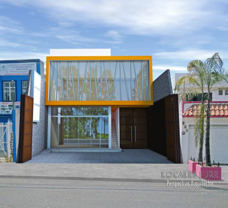 Locales JRZ: Espacios comerciales de estilo  por Perspectiva Arquitectos México