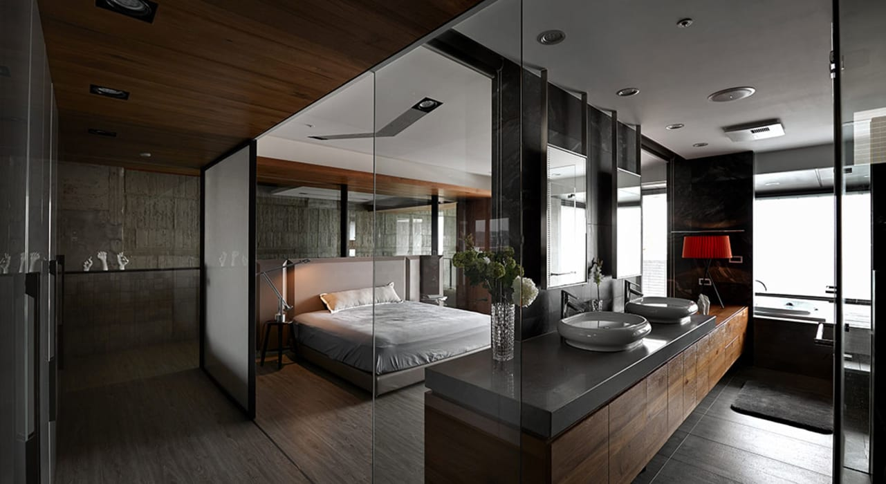 Bedroom by 沈志忠聯合設計, Industrial