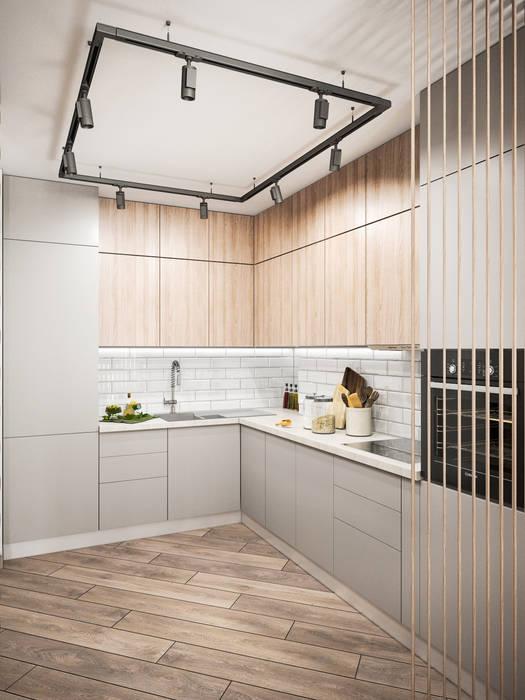 Кухня в стиле минимализм: Кухни в . Автор – Tatiana Zaitseva Design Studio