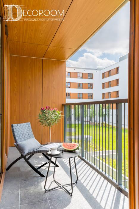 Balkon, Beranda & Teras Gaya Skandinavia Oleh Decoroom Skandinavia