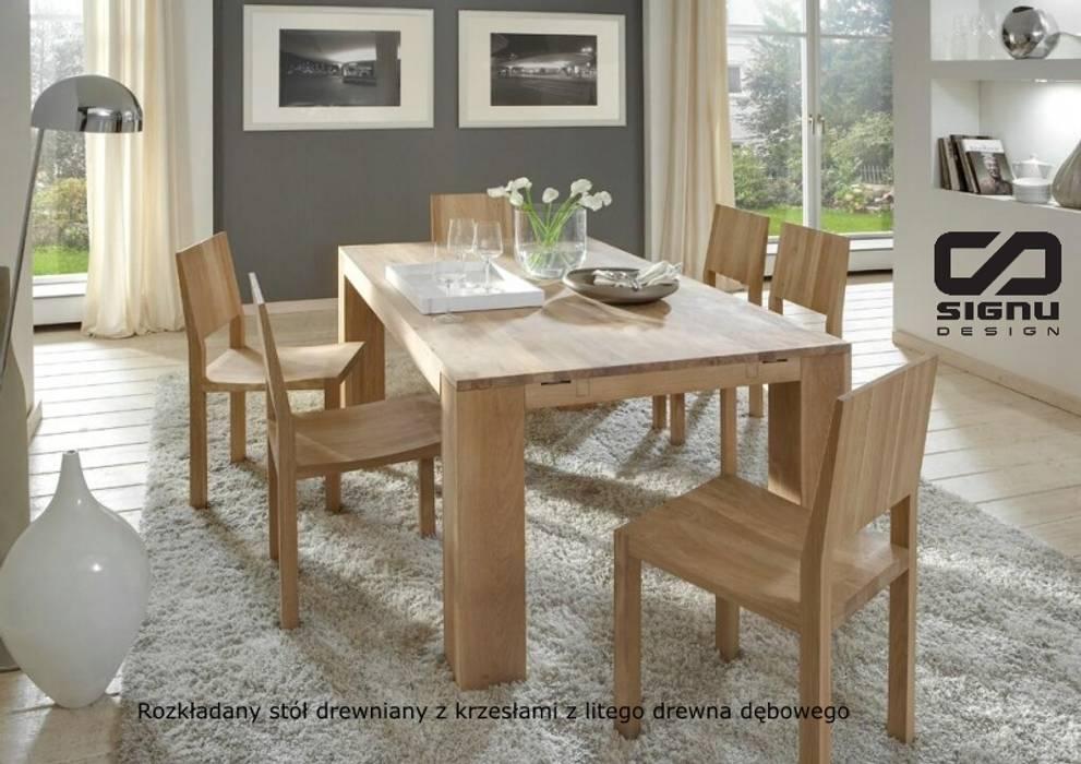 Stoły I Krzesła Drewniane Do Salonu I Jadalni Styl W Kategorii