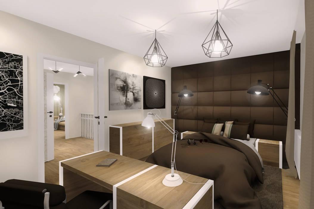 :  Bedroom by KOKON zespół architektoniczny