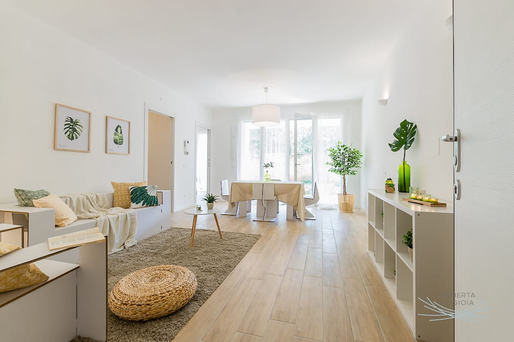 Salon scandinave par Home Staging & Dintorni Scandinave