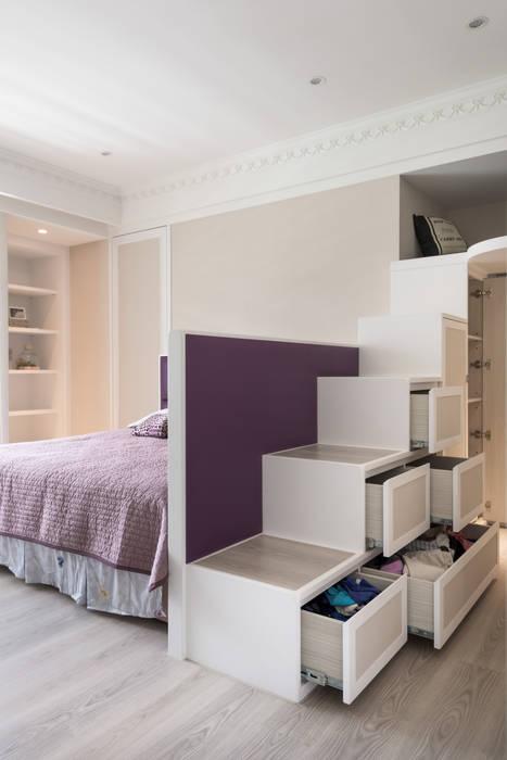 Dormitorios de estilo moderno de 思為設計 SW Design Moderno