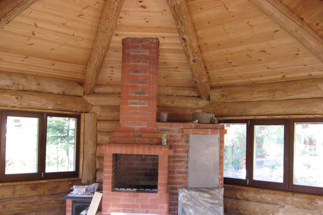 Летняя кухня: Дома в . Автор – Техно-сруб