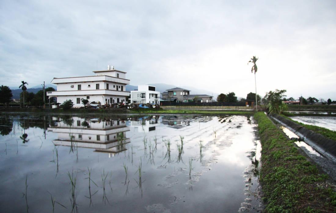 將建築輕輕的放入環境:  房子 by 賴人碩建築師事務所