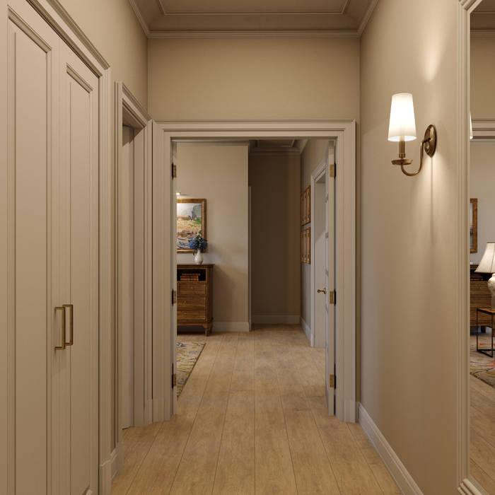 Дизайн-проект квартиры для женщины: Коридор и прихожая в . Автор – Антон Булеков