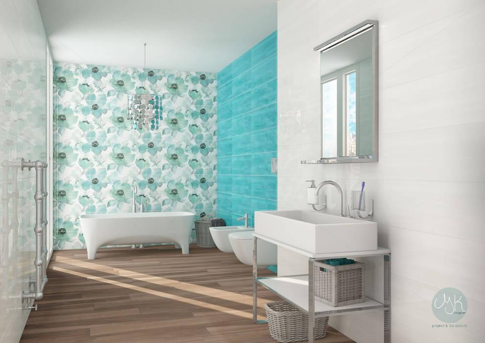 Rivestimento ceramico serie studio by paul co ceramiche bagno in stile di mk designer studio - Paul ceramiche bagno ...