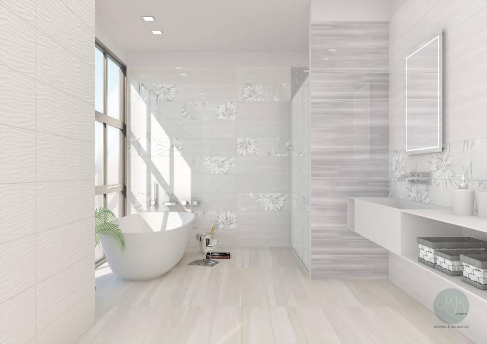 Rivestimento ceramico serie studio by paul co ceramiche bagno in
