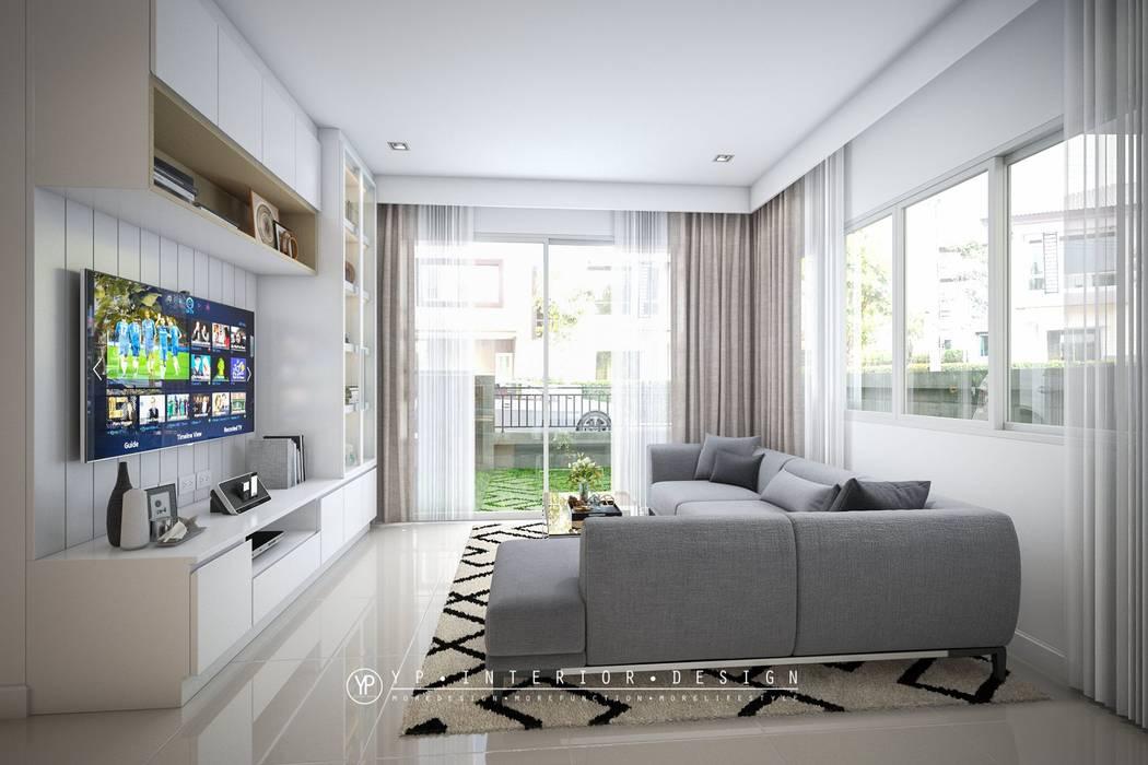 โครงการออกแบบตกแต่งภายในบ้านพักอาศัย 2 ชั้นGolden NEO บางนา โดย YPinteriorDesign