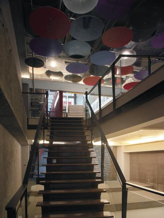 台南 Being Spa休閒運動中心 現代風玄關、走廊與階梯 根據 鼎爵室內裝修設計工程有限公司 現代風 合板