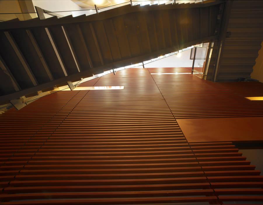 Hành lang, sảnh & cầu thang phong cách hiện đại bởi 鼎爵室內裝修設計工程有限公司 Hiện đại Sắt / thép