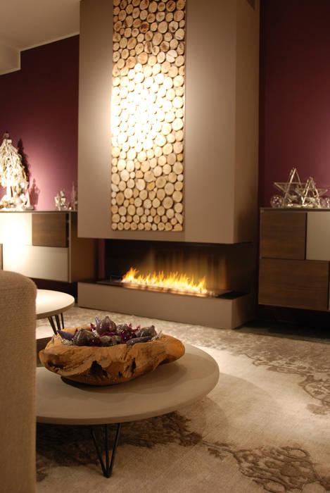Wohnzimmer von Clearfire - Lareiras Etanol, Klassisch