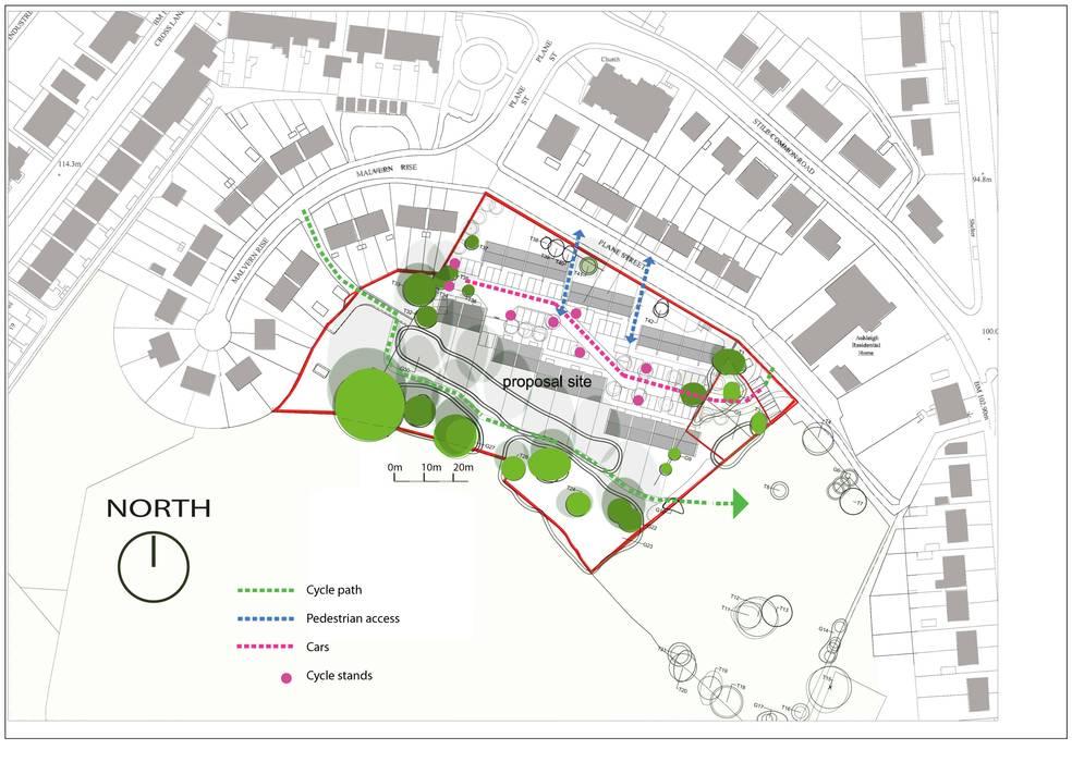 Passivhaus Feasibility Study par Phi Architects