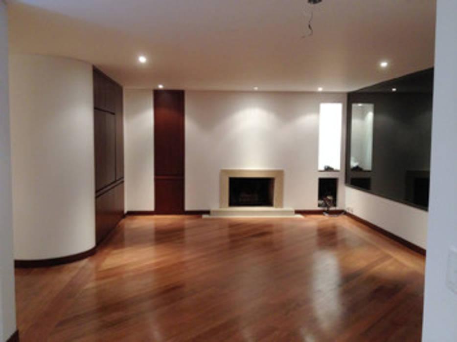 Proyecto Country Moderne Wohnzimmer von Erick Becerra Arquitecto Modern
