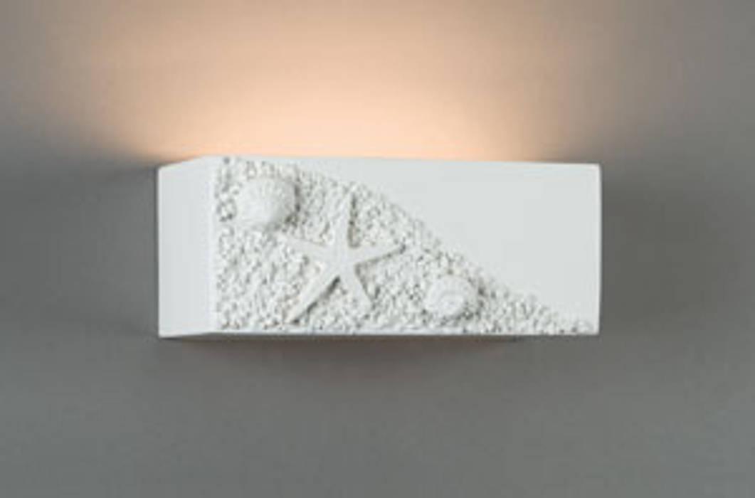 Lámparas de Yeso decoradas de ILUMINABLE Ecléctico
