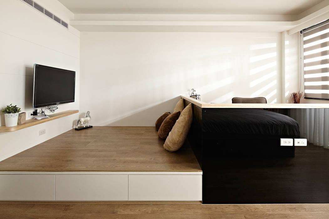 2F主臥室/起居空間 根據 映荷空間設計 現代風